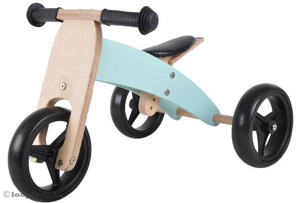 Smart Bike 4 in 1 van Bandits & Angels mint groen.