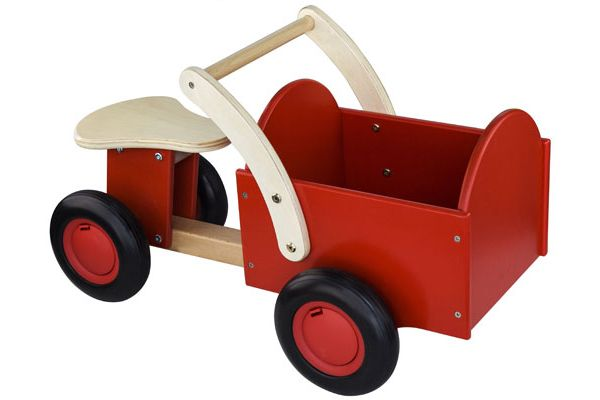 Classic bakfiets rood