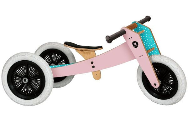 Wishbonebike roze 3 in 1 Limited Edition